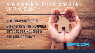 John Burns Real Estate Consulting Virtual Event
